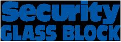 Security Glass Block Logo