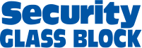 Security Glass Block Logo
